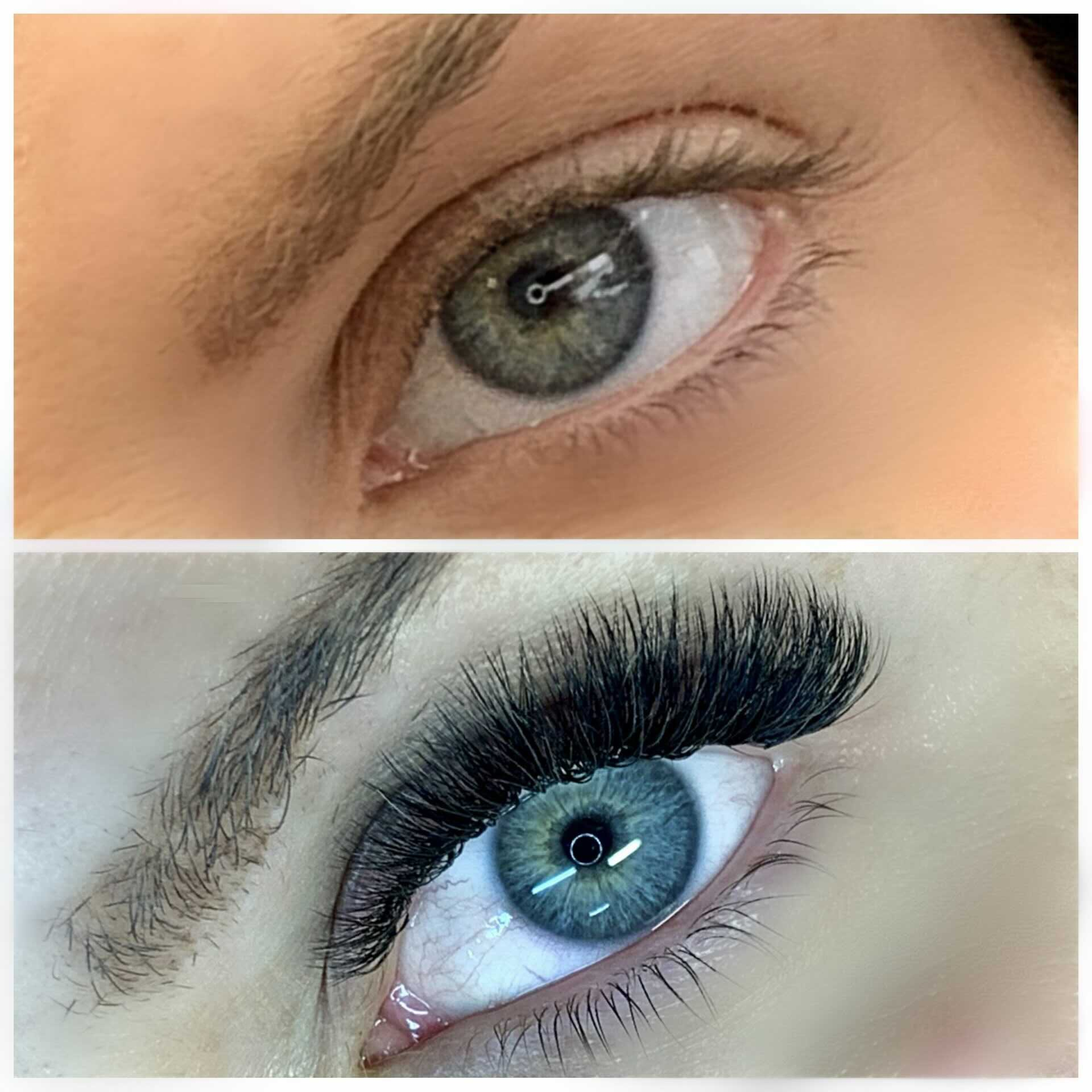 russian volume eyelash extension limassol